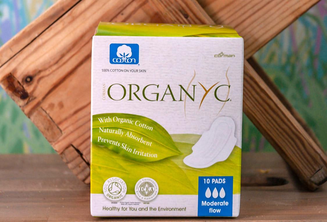 Compresas de Algodón Orgánico