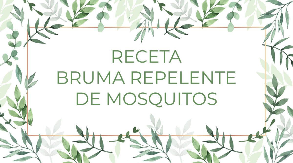 Receta de Repelente de Mosquitos